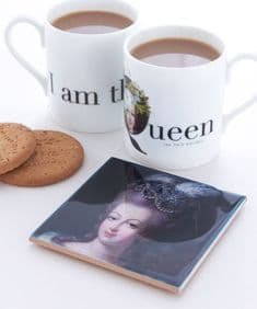 Supercamp Marie Antoinette ceramic coaster
